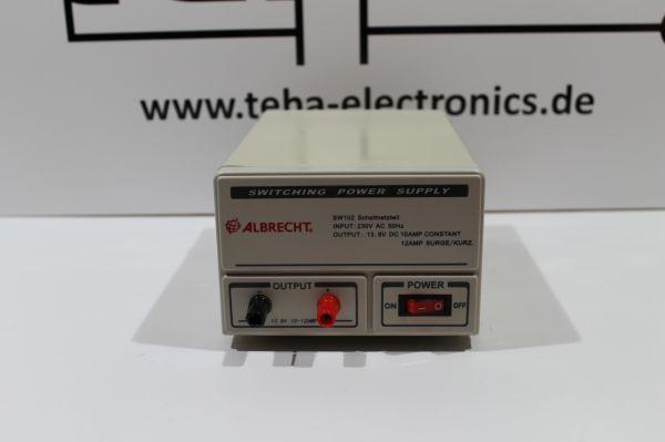 Albrecht 12 Ampere Schaltnetzteil SW 102 Neuwertig