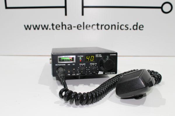 DNT M 2740 CB Mobilfunkgerät - Messplatz getestet - TOP