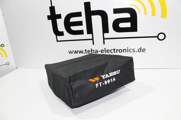 Yaesu FT 991 A Staubschutzhülle - hochwertig bestickt NEU - Made in EU