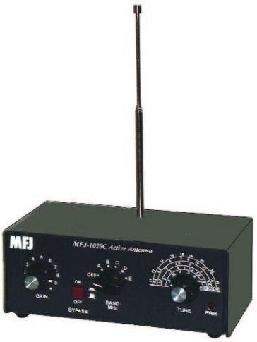 MFJ - 1020 C - Aktiv SWL Antenne