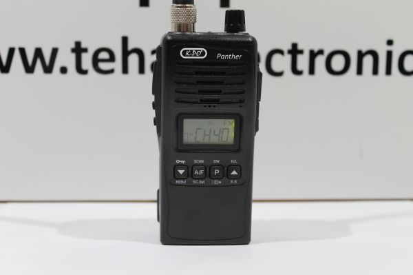 K-PO Panther CB Handfunkgerät - 27 MHz -sehr robust -Outdoor tauglich IP54