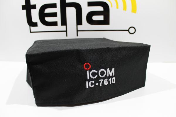 Icom 7610 Staubschutzhülle - Hochwertig bestickt NEU