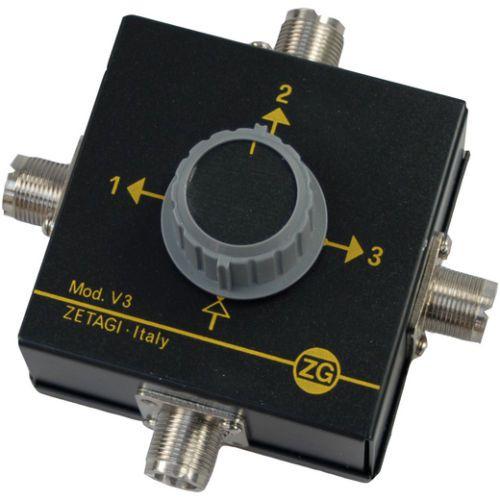 Zetagi V 3 Antennenumschalter 3-Weg