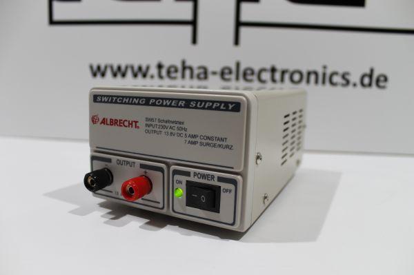SW 57 Schaltnetzteil- Netzteil für CB-Funk und andere Anwendungen