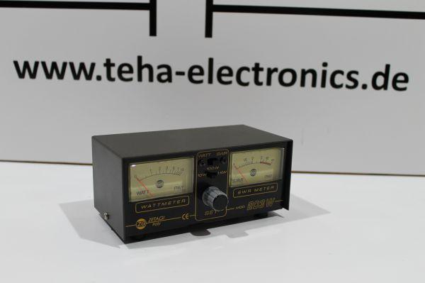 ZETAGI SWR 203 SWR & Powermeter NEU 1000 Watt