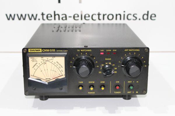 Daiwa CNW - 518 Antennentuner 1 KW getestet