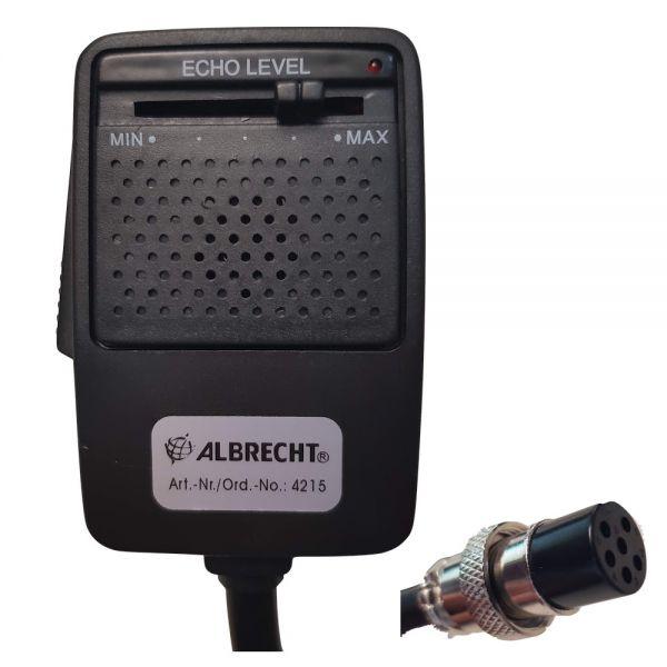Albrecht - Densei EC-2002 Echo & Verstärker MIC 6 pol GDCH