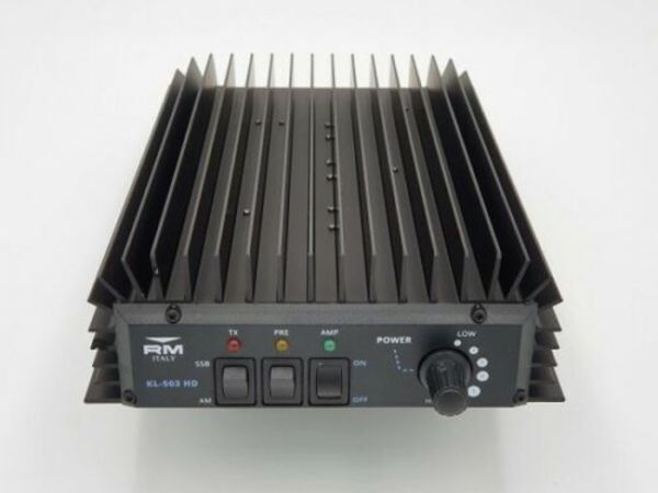 RM KL 503 HD Endstufe - 25-30Mhz 250 Watt AM/FM - 300 Watt SSB/CW
