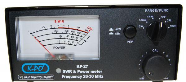 K-PO KP 27 SWR & Power Meter BESTSELLER