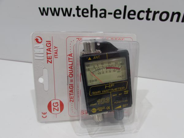 Zetagi mod. 103 SWR / Wattmeter