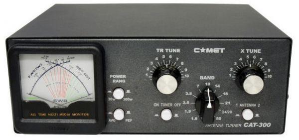 COMET CAT-300 HF Antenna Tuner 1,8 - 60 MHz - 300 Watt