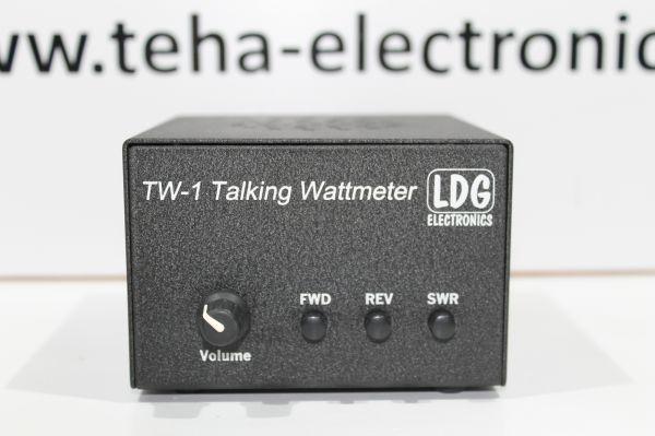 LDG TW- 1 Talking Wattmeter / SWR / Rücklauf - getestet TOP