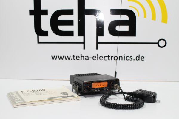Yaesu FT 2200 incl. Antenne getestet - TOP - 50 Watt