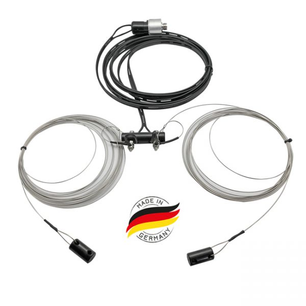 BIDATONG G5RV 20m-6m Multiband-Dipol / 300 Ohm 8 Meter länge