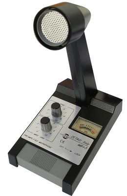 ZETAGI MB +5 Standmikrofon mit Verstärker Neu OVP