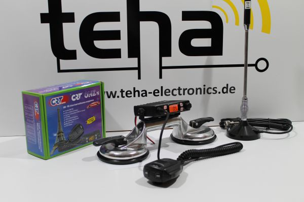 "CB Funkset portabel komplett "" Plug and Play "" inkl Antenne"