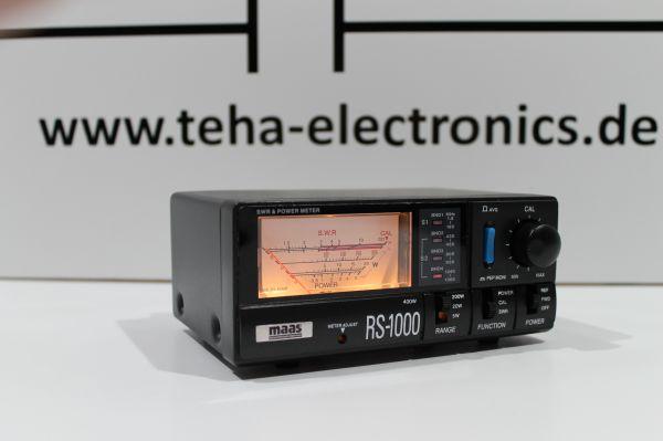 MAAS RS-1000 SWR-Power Meter Neu OVP